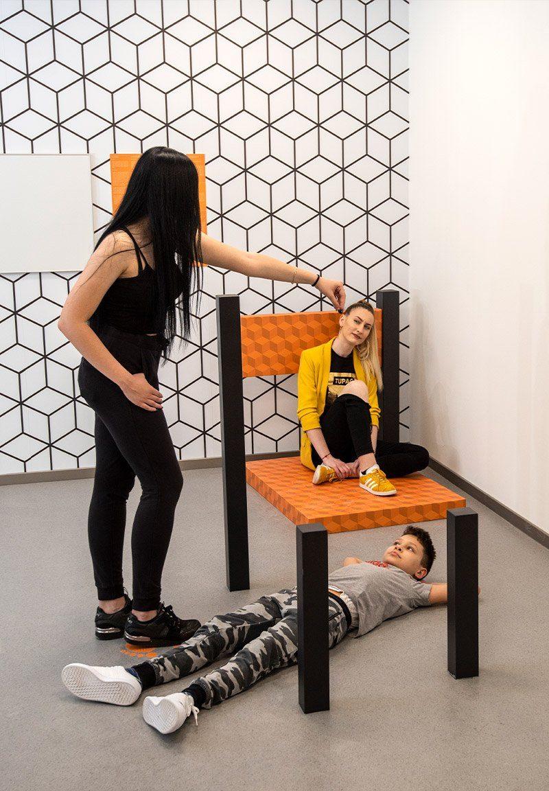 The Beuchet Chair Illusion